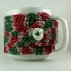 Christmas Crochet Coffee Cup Cozie