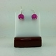 Pink Pumpkin Earrings