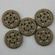 Steampunk Brass Metal Gear Beads