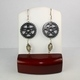 Steampunk Modern Style Gear Earrings