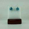 Blue Pumpkin Earrings