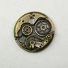 Steampunk Small Brass Watch Gear Pendant