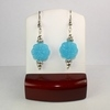 Spring Blue Flower Earrings