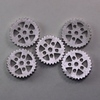 Steampunk Silver Metal Gear Beads / No Holes